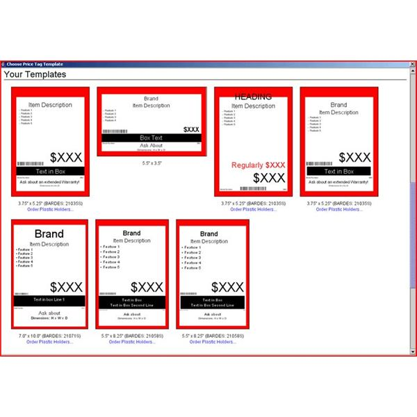 Make Use of These Price Tag Templates to Sell Any Items Free Downloads - free download label templates microsoft word