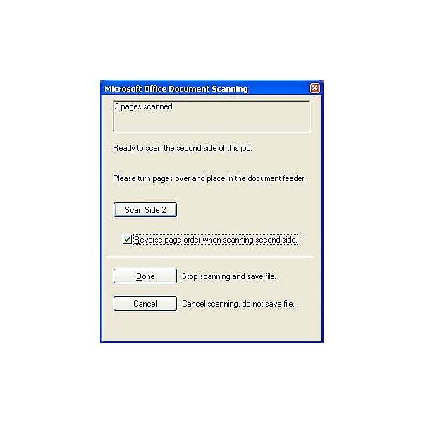 How To Microsoft Office Document Scanning Double Sided
