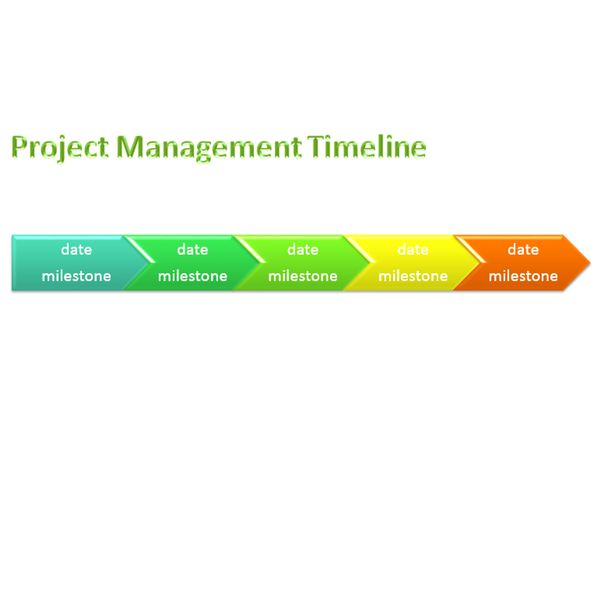 Sample Project Management Timeline Templates for Microsoft Office - timeline word template