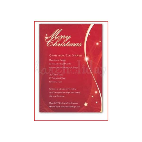 Christmas iIvitation Phrases to Reflect the Intended Atmosphere of - family gathering invitation wording