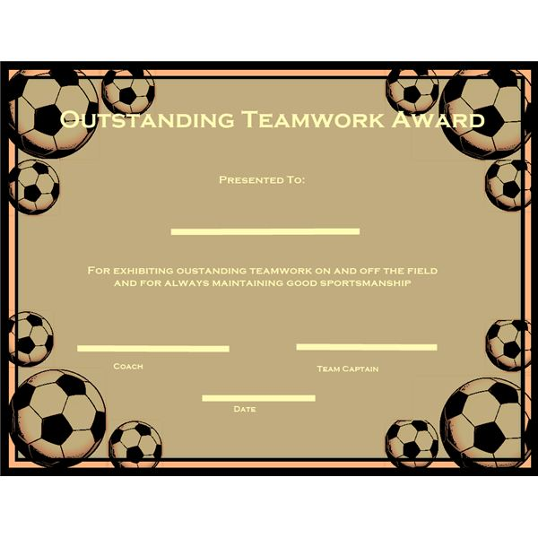 10 Free Printable Awards Certificates for Children to Reward Their - best of printable soccer certificate