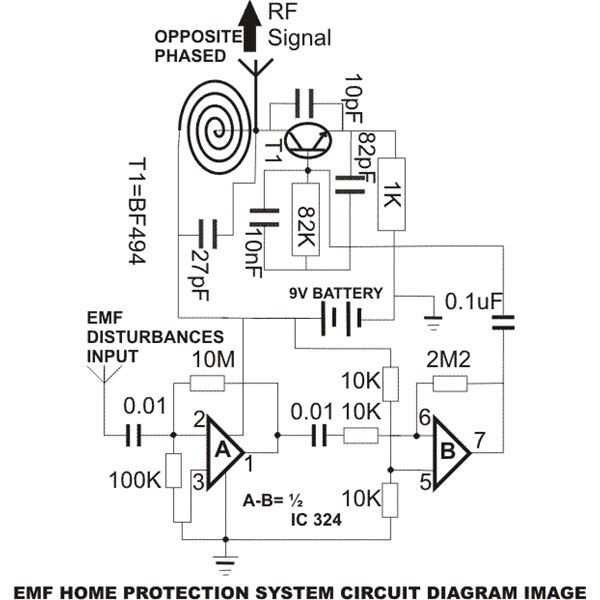 sensitive electromagnetic field sensor electronic circuits and