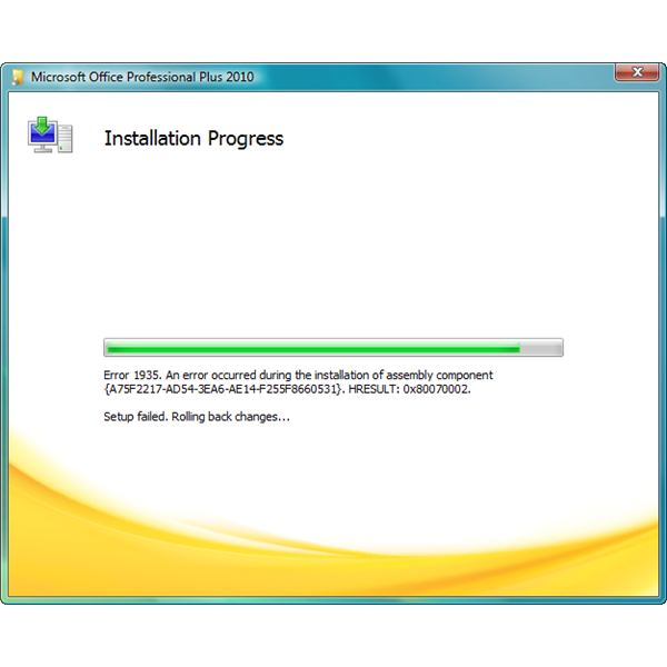 How to Fix Error 1935 When Installing Office 2010