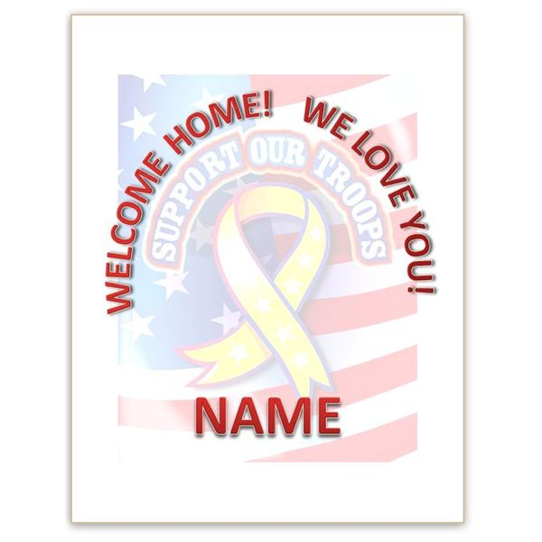 New House? New Baby? A Welcome Home Sign Template for Word Will Help