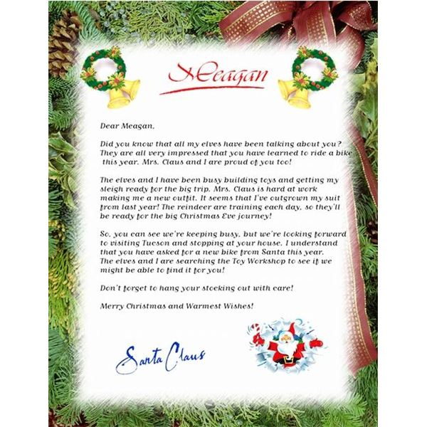 Guide to Finding a Free Christmas Letter Template - christmas letterhead templates word