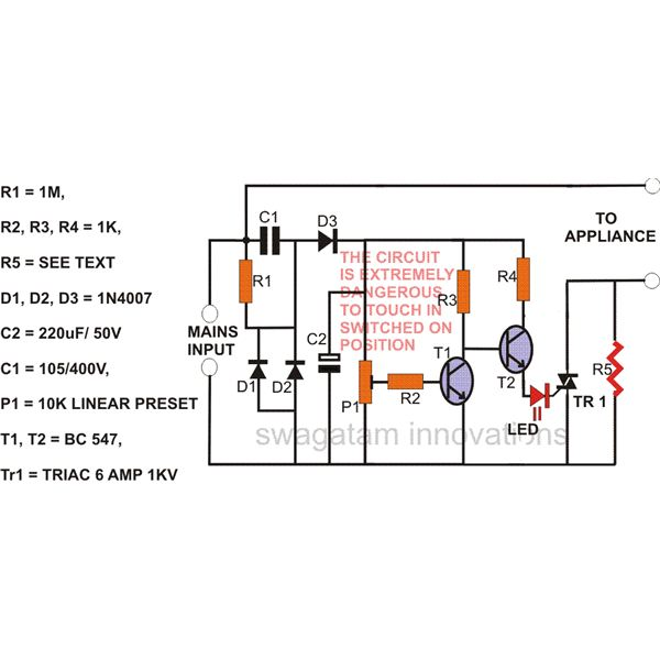 Ac Surge Protector Wiring Electronic Schematics collections
