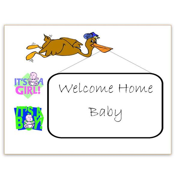 New House? New Baby? A Welcome Home Sign Template for Word Will Help - microsoft word sign template