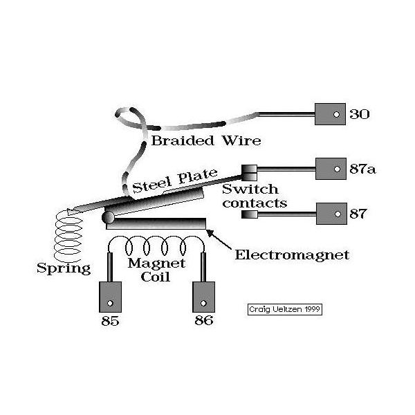ac relay switch circuit