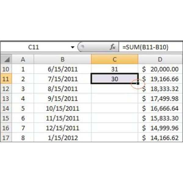 How to Make a Loan Amortization Table in Excel with Free Excel