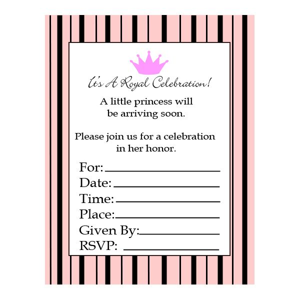 Where to Find Free Printable Baby Shower Invitations - Printable Baby Shower Invite