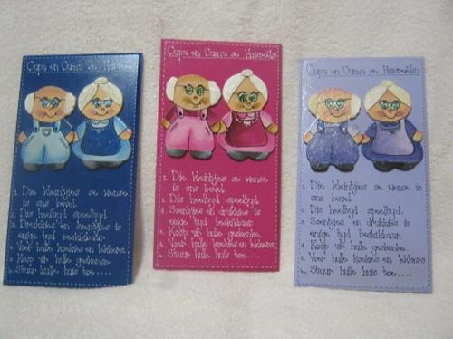 Photo Frames Ouma Oupa Huis Reels Board Was Listed For