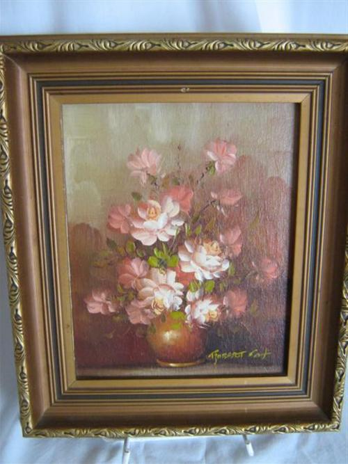 Holistic Travel Blog Oils Robert Cox Painting Of A Bowl Of Flowers With