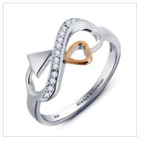 Engagement Rings - Solid .925 Sterling Silver PERSONALIZED ...