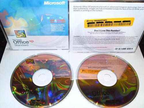 Other Software - MS OFFICE XP STANDARD 2002 ACADEMIC EDITION, 2 CD + - office cd
