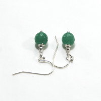 Earrings - May birthstone Aventurine earrings on 925 ...