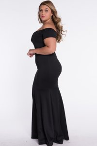 Formal Dresses - PLUS SIZE DRESSES/PLUS SIZE DRESS/BLACK ...