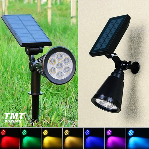 Solar Walkway Lights Not Working Landscape & Walkway Lights - 7 Led Colour Changing Solar Spotlight Was Sold For R280.00 On 23