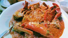 新加坡餐廳|長堤辣螃蟹在東海岸海鮮中心(chili crab in Long Beach Seafood Restaurant UDMC)