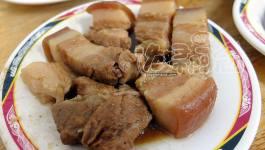 台南滷三塊五花肉飯|根治飲食外食台灣小吃(台北石牌站)