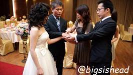。喜喜來了。台南婚宴–懷舊鐵道風之婚禮預演