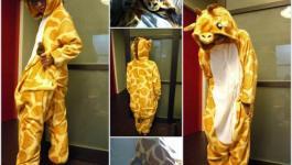 打開收集控的儲物間₪硬梆梆的長頸鹿積木、暖呼呼的長頸鹿睡衣(長頸鹿睡姿?)、軟綿綿的長頸鹿蛋糕(TOKYO BANANA)