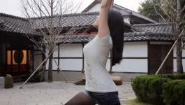 easyoga瑜伽/瑜珈馬拉松 3/10(日) Day 10–【戰士ㄧ/ Extended Warrior I】
