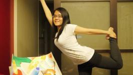 easyoga瑜伽/瑜珈馬拉松 3/17(日) Day 17–【舞王式/ King of the Dancers Pose】
