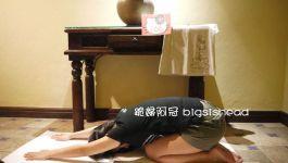 easyoga瑜伽/瑜珈馬拉松 3/20(三) Day 20–【嬰兒式/ Child's Pose】