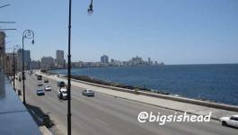 Cuba古巴遊記|沿著哈瓦那海堤大道Malecón行軍十公里(蜜月之旅day2-2)