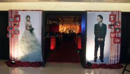 。喜喜來了。台北故宮晶華婚宴–復古中國風之場地、布置與音樂