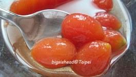 ®人妻廚房®梅香莊梅粉入菜試做-梅汁燒豆腐及冰釀蕃茄