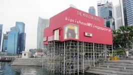 新加坡自由行☼魚尾獅即日起至8月底止進入封閉整修階段,預計9月正式對外開放