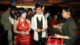 。喜喜來了。台北故宮晶華婚宴–復古中國風之服裝及造型