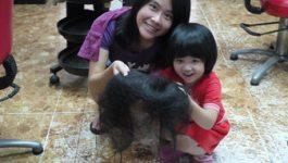 ♔貴婦之路♔LA日式剪燙造型–頭髮長這麼快是要幹嘛?