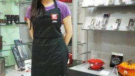 ®人妻廚房®双人牌煙燻鍋(Zwilling J.A Henckels)、油飯、洋蔥燜雞、發財菜、啤酒雞翅、鮪魚小黃瓜米紙捲