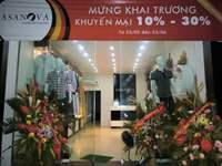 mat tien showroom casanova small Những shop quần áo đẹp mà lại rẻ ở Hà Nội