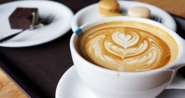 【台中西屯咖啡】冰河咖啡 Glacier Coffee Roasters - 環境超寬敞.感覺講話可以有回音.自助取餐.甜點還不錯.精緻了點.呵呵