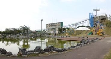 『2017沖繩』超長溜滑梯,讓孩子溜到欲罷不能-西崎親水公園