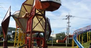 『沖繩』愛恐龍就要找恐龍溜滑梯呀-東浜きょうりゅう公園(東濱恐龍公園)