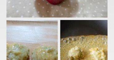 『幼兒食譜』鮮蔬米肉丸子兩吃(含味噌醬食譜)