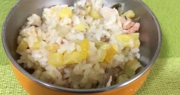 『嬰幼兒食譜』酸酸甜甜好開胃-夏威夷鮮蝦飯(一鍋到底)