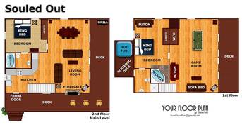Floor Plan at Souled Out in Shagbark TN