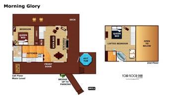 Floorplan at Morning Glory in Sky Harbor TN