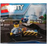 LEGO Bright Light Blue Policeman Minifig Torso (76382 ...