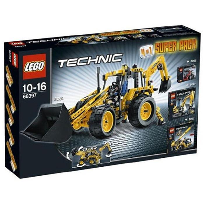 LEGO Technic Super Pack 4 in 1 Set 66397 Brick Owl - LEGO Marketplace