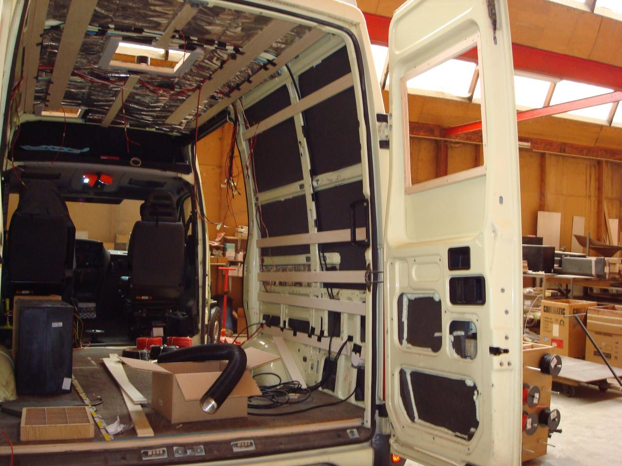 Application Pour Amenager Son Interieur Amenager Un Camion Pour Camping Car