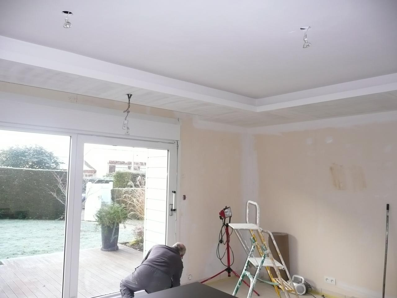 Model De Decoration Interieur Proportion Faux Plafond