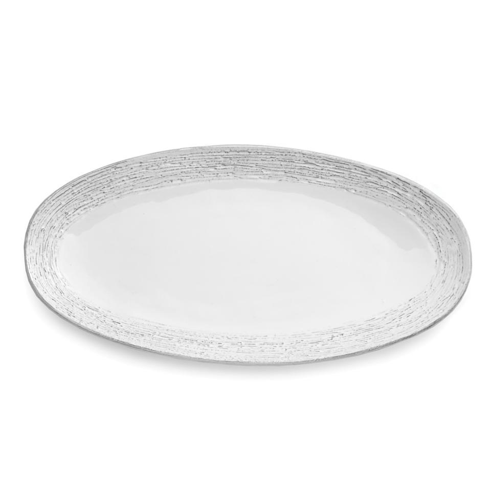Arte Italica Customer Service Arte Italica Graffiata White Oval Platter Price 133 00 In