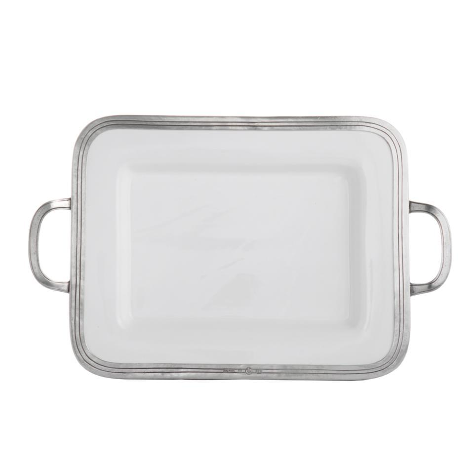 Arte Italica Customer Service Arte Italica Tuscan Small Rectangular Tray With Handles Price