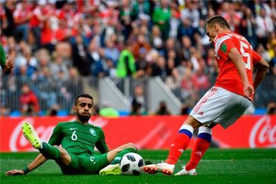 5 أرقام قياسية في فوز روسيا الساحق على السعودية بكأس العالم - بطولات